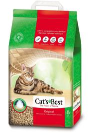 JRS Cat's Best Eco Plus Asternut natural pentru litiera 7 L (3 kg) + lopatica pentru litiera GRATIS