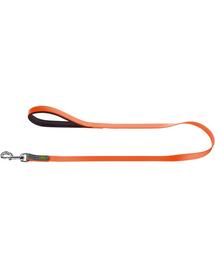 HUNTER Convenience Lesa pentru caini 1,5cm/1,2m, portocaliu neon