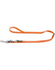 HUNTER Convenience Lesa reglabila pentru caini 2cm/2m, portocaliu neon