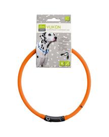 HUNTER LED Yukon Zgarda cu led pentru caini 20-70cm, portocaliu