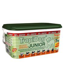 TROPIDOG Super Premium Junior S 3l / 1,1 kg hrana uscata pentru pui de talie mica, miel, somon si oua