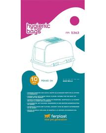 FERPLAST Pungi igienice pentru litiera pisicilor 5363