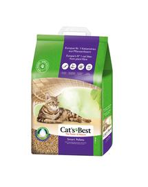 JRS Cat'S Best Smart Pellets Nature Gold peleti pentru litiera 10 L (6 kg) + lopatica pentru litiera GRATIS