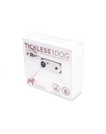TICKLESS Mini Dog Dispozitiv cu ultrasunete anti-capuse si purici, pentru caini de rase mici, alb