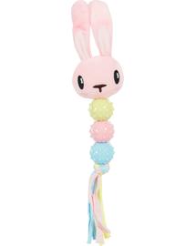 ZOLUX Puppy Rabbit Toy pink