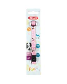 ZOLUX Zgardă pentru cățeluși Puppy MASCOTTE 13mm, roz