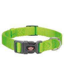 TRIXIE Zgarda Premium, marime S: 25–40 cm / 15 mm, culoare verde