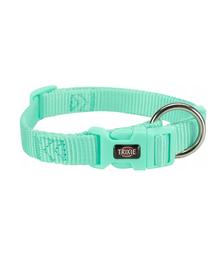 TRIXIE Premium Zgardă pentru câini, culoare mentă, S: 25–40 cm/15 mm