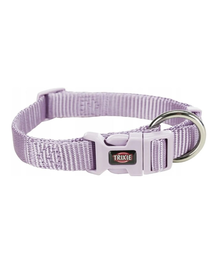 TRIXIE Premium Zgardă pentru câini, culoare liliac, S: 25–40 cm/15 mm