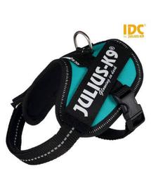 TRIXIE Ham pentru caini Julius-K9 IDC Mini-Mini/S: 40–53 cm/22 mm, petrol
