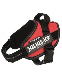 TRIXIE Ham Julius-K9®, 1/L: 63–85 cm/50 mm, roșu