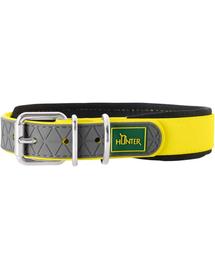 HUNTER Convenience Comfort Zgarda pentru caini, marimea XS-S (35) 22-30/2cm galben neon
