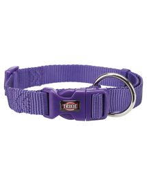 TRIXIE Zgardă Premium, XS–S: 22–35 cm/10 mm, violet