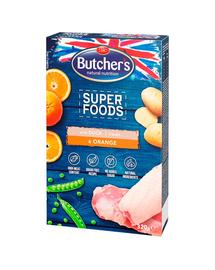BUTCHER'S Superfoods Treats recompense cu rață și portocale 320 g