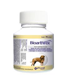 BIOWET Bioarthrex tablete pentru caini care sustin reinnoirea cartilajului articular 75 tabl.