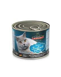 LEONARDO Quality Selection hrana umeda pentru pisici, bogata in peste 200 g