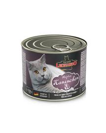 LEONARDO Quality Selection hrana umeda pentru pisici, bogata in carne de iepure 200 g