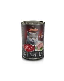 LEONARDO Quality Selection hrana umeda pentru pisici, bogata in carne de vita 400 g