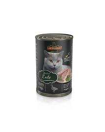 LEONARDO Quality Selection hrana umeda pentru pisici, bogata in carne de rata 400 g