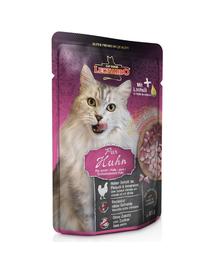 LEONARDO Finest Selection hrana umeda pisici adulte, cu pui 85 g