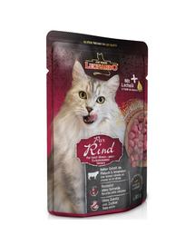 LEONARDO Finest Selection hrana umeda pisici adulte, cu vita 85 g