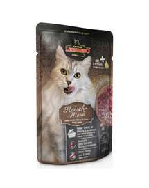 LEONARDO Finest Selection hrana umeda pisici adulte, mix carne 85 g