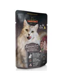 LEONARDO Finest Selection hrana umeda pentru pisici, cu iepure si merisoare 85 g