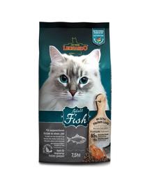 LEONARDO Adult Ocean Fish & Rice hrana uscata pisici adulte, cu peste si orez 7,5 kg