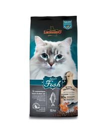 LEONARDO Adult Ocean Fish & Rice hrana uscata pisci adulte, peste si orez 15 kg