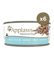 APPLAWS Hrana umeda pentru pisici, cu ton, 6 x 70 g