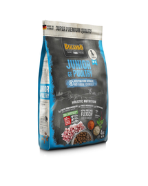 BELCANDO Junior Poultry hrana uscata fara cereale pentru juniori, talie M-XL, 4 kg