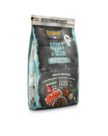 BELCANDO Adult Grain Free hrana uscata pentru cainii sensibili, cu pesti de ocean, talie M-XL, 4 kg