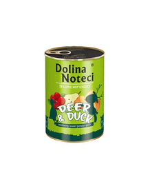 DOLINA NOTECI Premium SuperFood cerb și rață 400 g