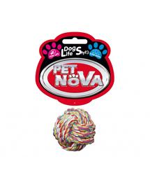 PET NOVA DOG LIFE STYLE Minge pentru caini, din bumbac 5cm Superdental