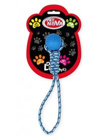 PET NOVA DOG LIFE STYLE MInge cu sfoara pentru caini, albastru, aroma de menta, 40cm
