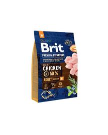 BRIT Premium By Nature Adult Medium M 3 kg