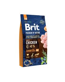 BRIT Premium By Nature Senior Small Medium S+M 8 kg