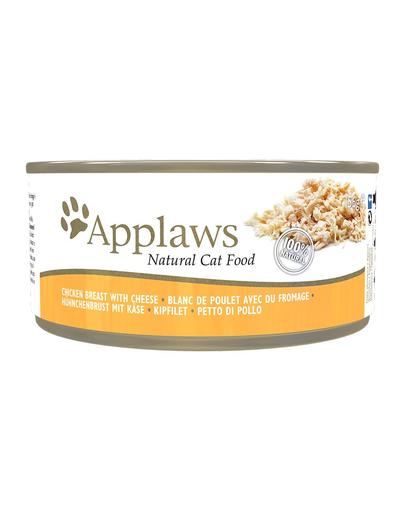 APPLAWS Hrană umedă cu pui și brânză 156 g