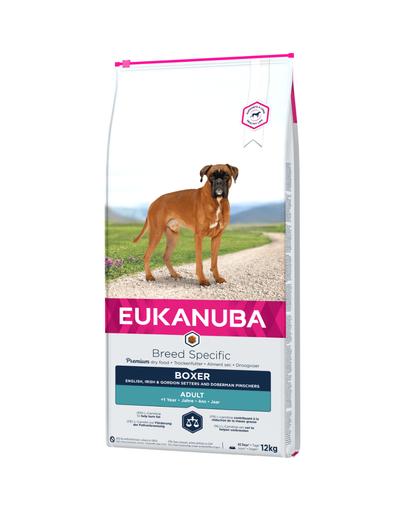 EUKANUBA  Breeds Specific hrana uscata pentru cainii adulti rasa boxer 12 kg