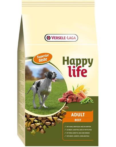 VERSELE-LAGA HAPPY Life Adult vită 15 kg