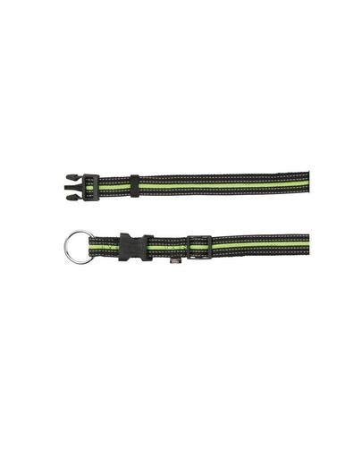 TRIXIE Zgardă S - M 30–45 cm / 17 mm negru / verde