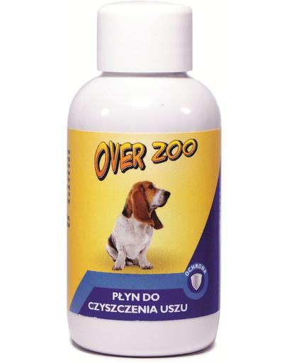 OVER ZOO Lichid pentru ingrijirea canalului auditiv caini si pisici 50 ml