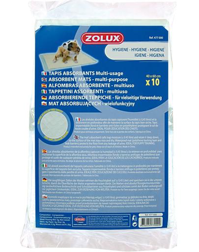 ZOLUX 10 covorașe absorbante 40 x 60cm