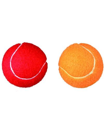 TRIXIE Set mingi tennis 6 cm 2 buc.