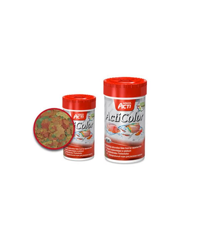 Hrană Aquael Acti color 250 ml multi