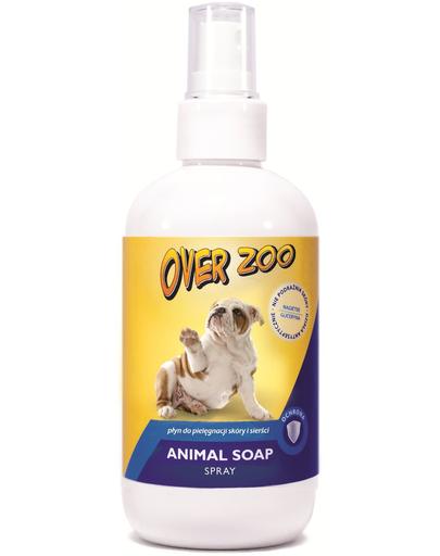 OVER ZOO Sapun spray pentru animale 250 ml