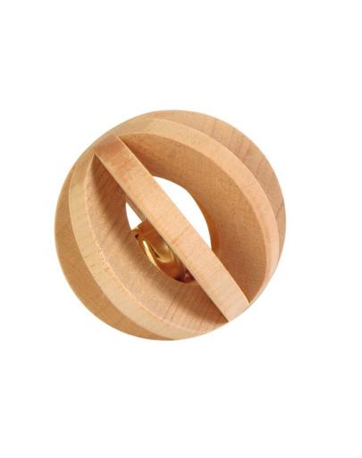 TRIXIE Minge din lemn cu clopoțel fera.ro