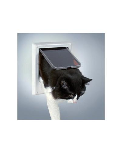 TRIXIE Usa pentru pisici Freecat de luxe electromagnetic, alb