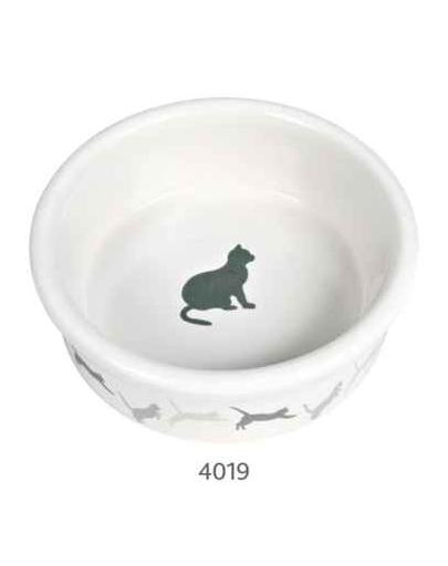TRIXIE Bol ceramic decorat pentru pisici 250 ml / 11 cm