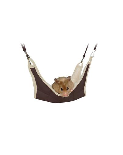 TRIXIE Hamac pentru hamster și șoarece 18 x 18 cm